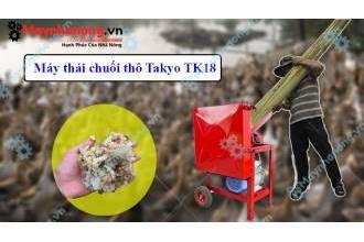 Takyo TK18 – Sự lựa chọn hàng đầu trong việc băm thái chuối tại Long An